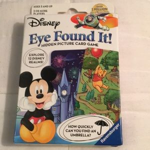 Other - Eye Found It! Hidden Picture Card Game - NWT